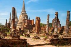Si Ayutthaya de Phra Nakhon Fotos de Stock Royalty Free