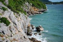 Si Chang Island di Kho a Chonburi Tailandia Fotografie Stock Libere da Diritti