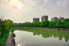SI Chuan, Cheng Du City en Chine Une belle ville, combinaison photos stock