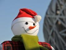 Si congratula il giorno di Natale Immagini Stock Libere da Diritti