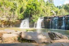Si dit Wasserfall in khao kho Nationalpark Lizenzfreie Stockfotografie