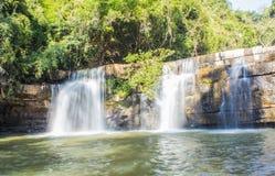 Si Dit Waterfall, Phetchabun Stock Photos