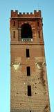 Si eleva nel quadrato principale, in Castelfranco Veneto, l'Italia immagini stock libere da diritti