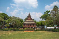 Si Muang Thung Wat σε Ubon Ratchathani, Si Muang ThailandWat Thung σε Ubon Ratchathani, Ταϊλάνδη Στοκ εικόνες με δικαίωμα ελεύθερης χρήσης