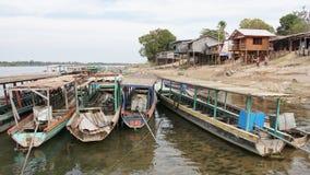 Si Phan Don, Laos, Asia Royalty Free Stock Image