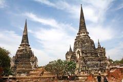 Si phra ayutthaya sanphet wat Στοκ Εικόνες
