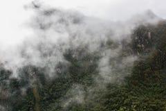 Si rannuvola la natura nelle montagne Immagine Stock
