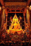 Si rattana phra του Βούδα chinnarat mahathat wat Στοκ εικόνα με δικαίωμα ελεύθερης χρήσης