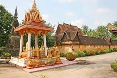 Si Saket, Vientiane van Wat Stock Foto