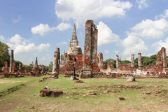 Si SAN Phet Ayutthaya Ταϊλάνδη Phra Wat Στοκ εικόνες με δικαίωμα ελεύθερης χρήσης