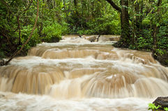 Si Sangwan waterfall, Thailand. Stock Photos
