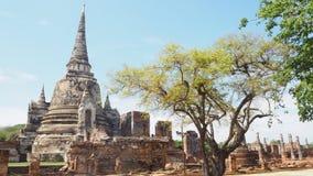Si Sanphetวัà¸žà¸£à¸°à¸¨à¸£à¸µà¸ªà¸£à¸£à¹ €à¸žà¸Šà¸ à¹ ŒPhra Wat Στοκ εικόνες με δικαίωμα ελεύθερης χρήσης