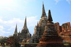 Si Sanphet Ayo Tha Ya Phra Wat Στοκ Φωτογραφίες