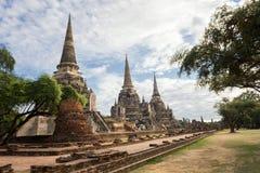 Si Sanphet, Si Ayutthaya Phra Wat Phra Nakhon Στοκ φωτογραφίες με δικαίωμα ελεύθερης χρήσης
