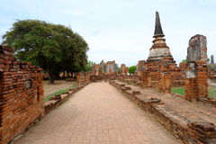 Si sanphet tempel van Phra Stock Afbeelding