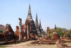 Si Sanphet van Phra van Wat stock afbeelding