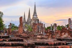 Si Sanphet van Phra van Wat Royalty-vrije Stock Fotografie