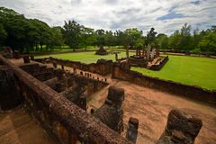 Si Satchanalai Chaliang Historical Park Stock Photography