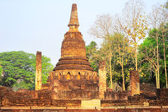 Si Satchanalai historical park Royalty Free Stock Photography