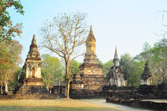 Si Satchanalai historical park Royalty Free Stock Image