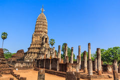 Si Satchanalai Historical Park, Thailand Royalty Free Stock Photo