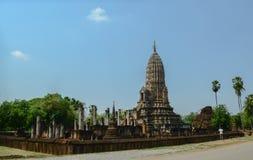Si Satchanalai Wat Phra Si Rattana Mahathat Fotografia Royalty Free