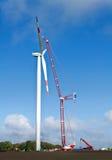 Siła wiatru budowa Zdjęcia Stock