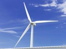 Siła wiatru generator Obrazy Royalty Free