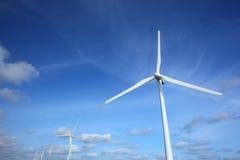 Siła wiatru pokolenie Zdjęcia Stock