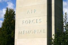 Siły Powietrzne pomnik zdjęcie royalty free