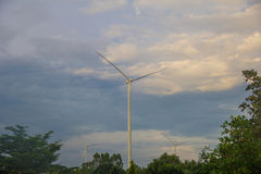 Siły wiatru pokolenie Obraz Stock