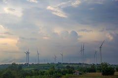 Siły wiatru pokolenie Obrazy Stock
