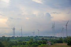 Siły wiatru pokolenie Fotografia Royalty Free