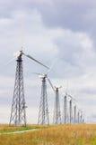 Siły wiatru stacja Zdjęcie Stock