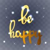 Sia carta felice Fotografia Stock