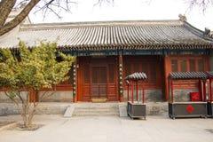Ásia China, Pequim, ¼ Œ do architectureï de ŒLandscape do ¼ do ï de White Cloud Temple Imagens de Stock