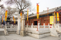 Ásia China, Pequim, ¼ Œ do architectureï de ŒLandscape do ¼ do ï de White Cloud Temple Fotos de Stock