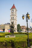 Ásia China, Tianjin, parque da música, escultura de Bach Fotos de Stock Royalty Free