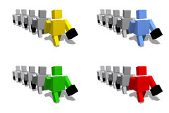 Sia a colori Fotografia Stock