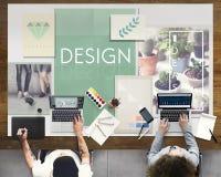 Sia concetto creativo crudo di idee di progettazione immagini stock