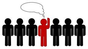 Sia differente! Fotografie Stock Libere da Diritti