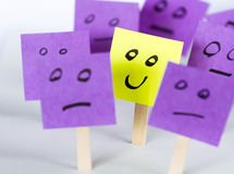 Sia differente, sia felice Fotografia Stock Libera da Diritti