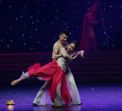 Sia dipendente su hanno la danza popolare reciproca di affinità-cinese Immagini Stock Libere da Diritti