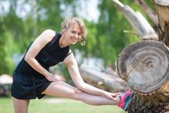 Sia donna adatta! Fotografia Stock Libera da Diritti
