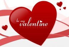 Sia il mio biglietto di S. Valentino #2 Fotografie Stock Libere da Diritti