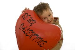 Sia il mio biglietto di S. Valentino 2 Fotografie Stock Libere da Diritti