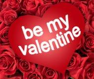 Sia il mio biglietto di S. Valentino Fotografia Stock Libera da Diritti