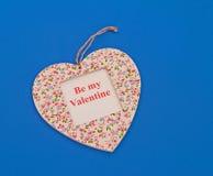 Sia il mio biglietto di S. Valentino Immagine Stock Libera da Diritti