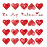 Sia il mio biglietto di S. Valentino royalty illustrazione gratis