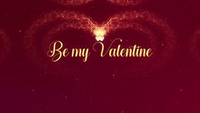 Sia la mia confessione di amore di Valentite Il cuore di San Valentino fatto della spruzzata del vino rosso sta comparendo Inizio illustrazione vettoriale